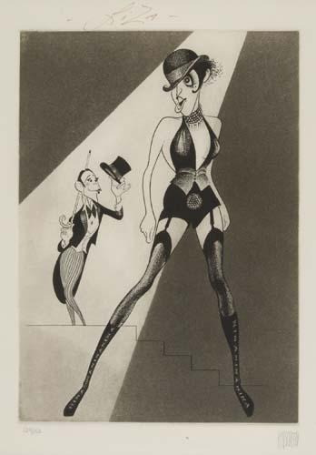 ALSO SIGNED BY LIZA MINNELLI Cabaret: Liza Minnelli and Joel Grey.