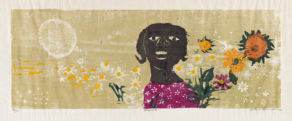 WALTER H. WILLIAMS (1920 - 1998) Marguerite.