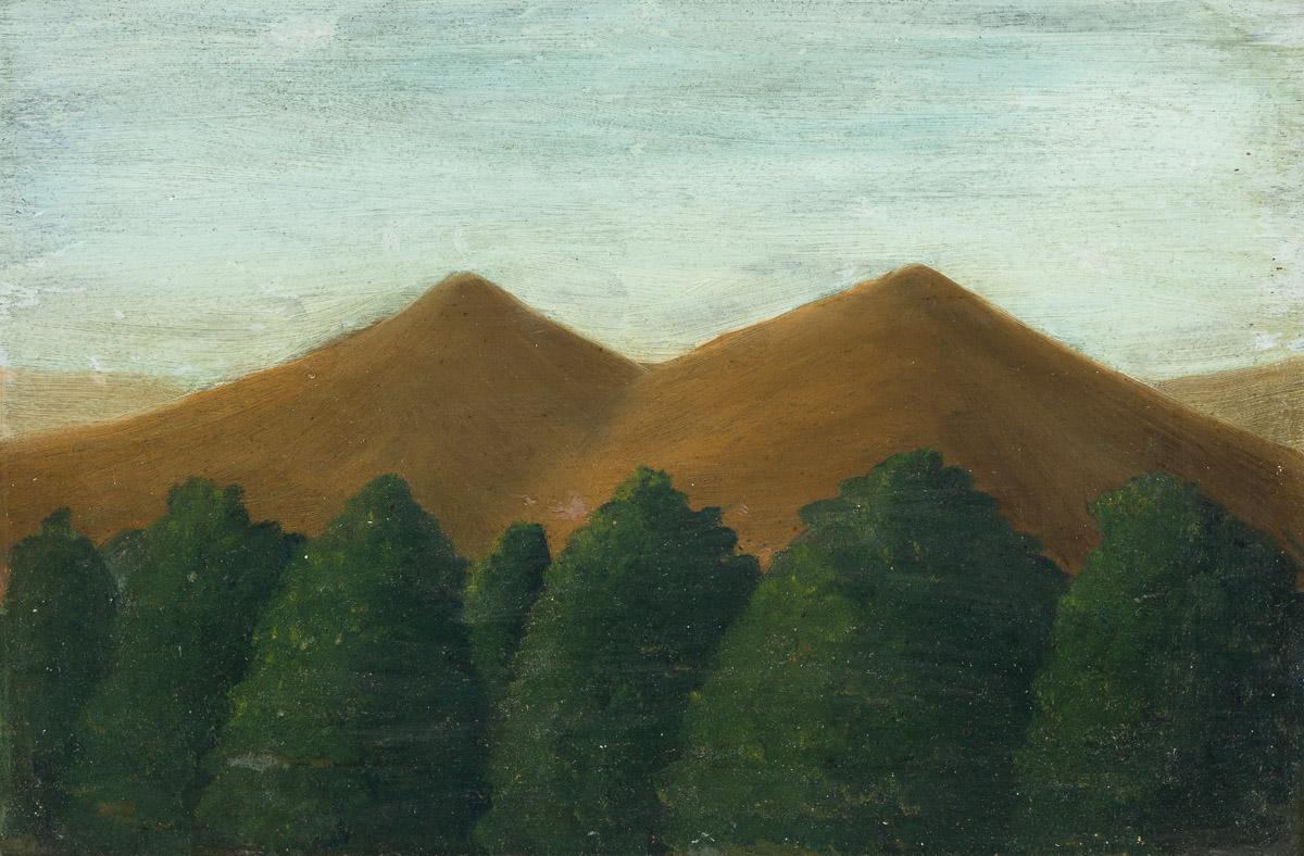 EMILE BRANCHARD (1881-1938) Mountain Landscape.