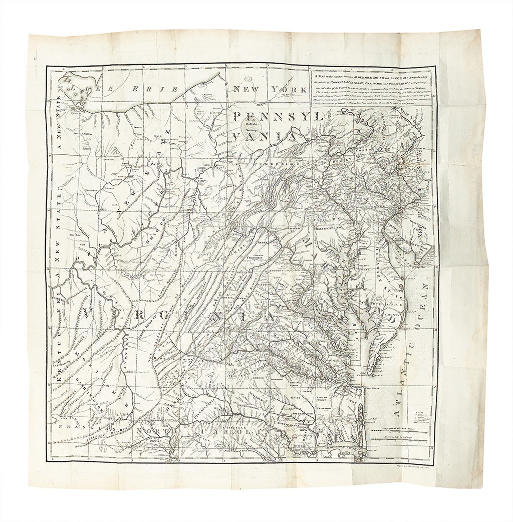 [JEFFERSON, THOMAS.] Observations sur la Virginie.