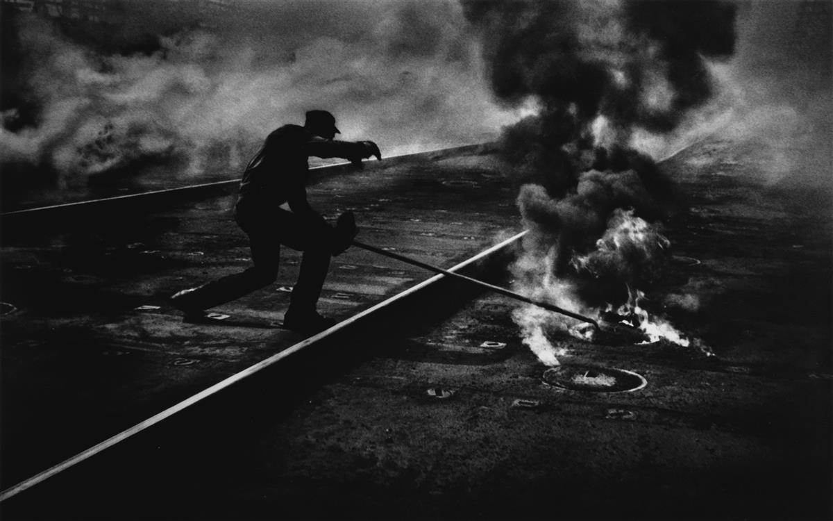 W. EUGENE SMITH (1918-1978) Dance of the Flaming Coke, from the Pittsburgh series.