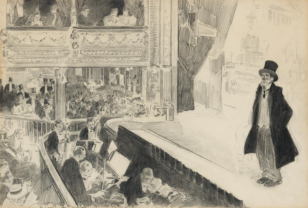 THEATER-CHARLES-DANA-GIBSON-At-the-Pavilion