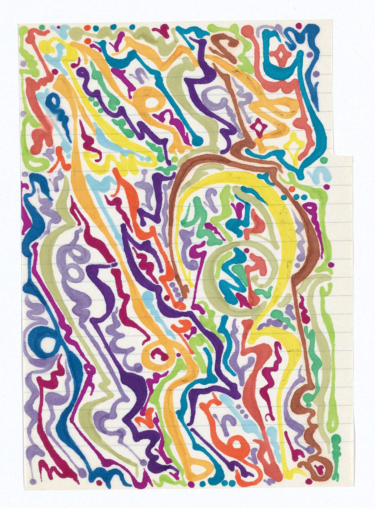 PAUL-SHARITS-Three-watercolors