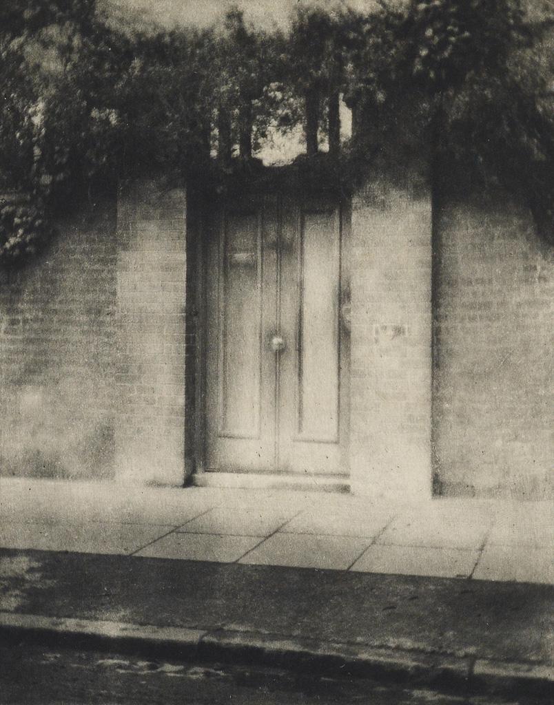 ALVIN LANGDON COBURN. The Door in the Wall.