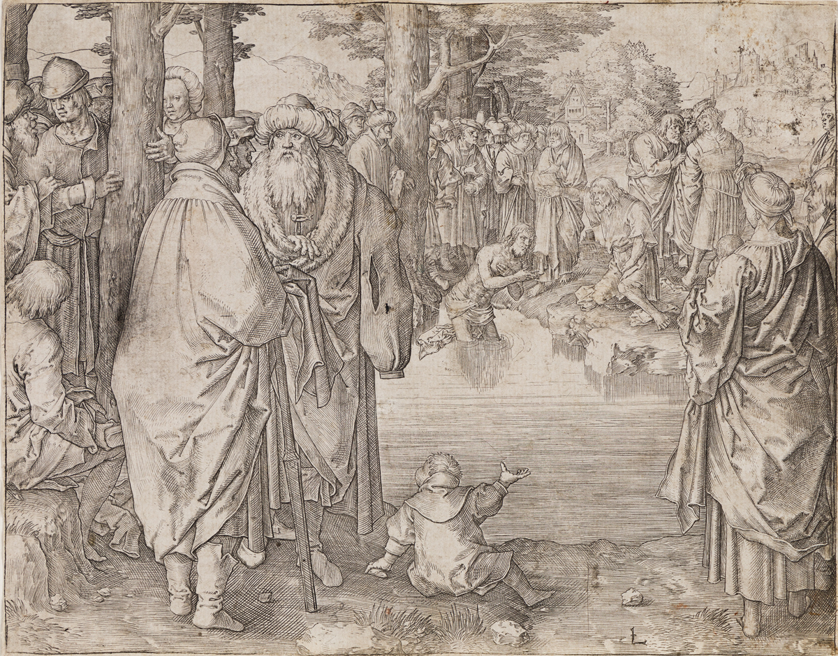 LUCAS VAN LEYDEN The Baptism of Christ.