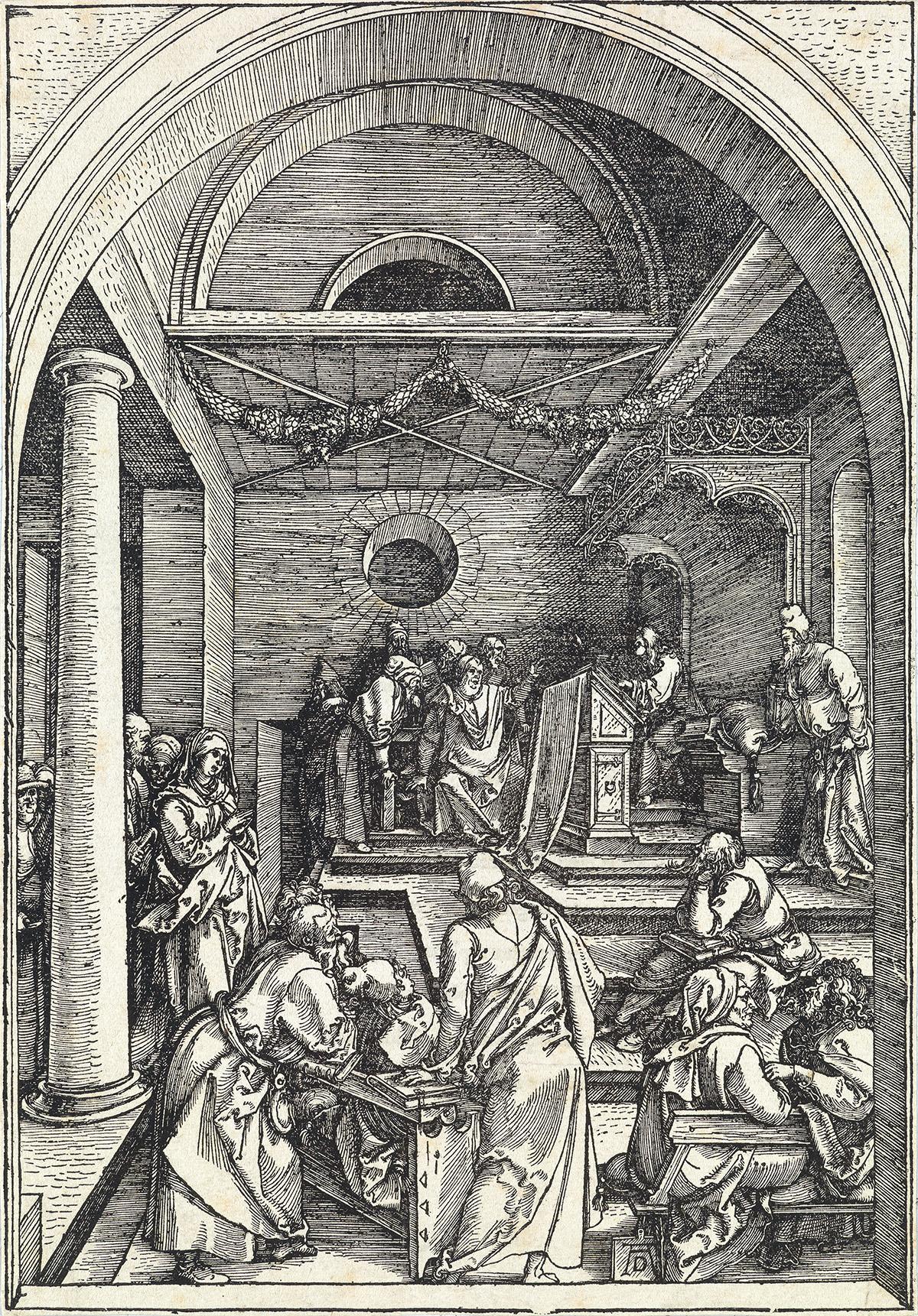 ALBRECHT-DÜRER-Christ-Among-the-Doctors