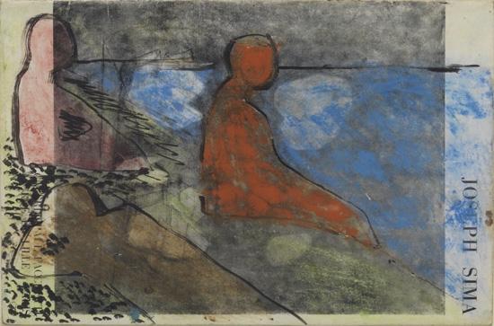 BOB THOMPSON (1937 - 1966) Untitled (After Seurat).