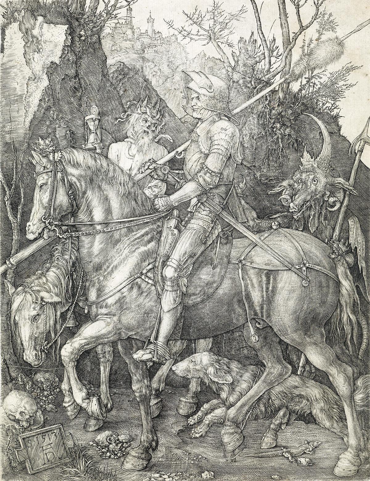 ALBRECHT-DÜRER-Knight-Death-and-the-Devil