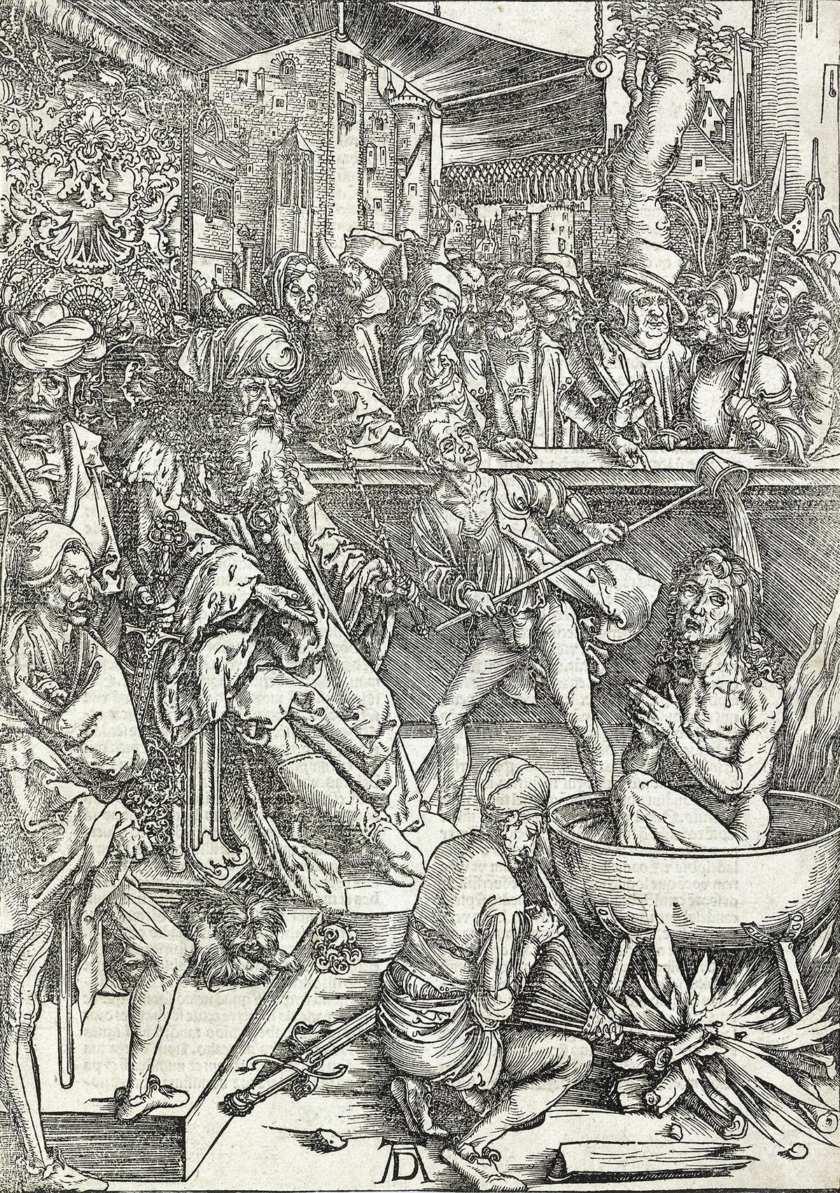 ALBRECHT-DÜRER-The-Martyrdom-of-St-John