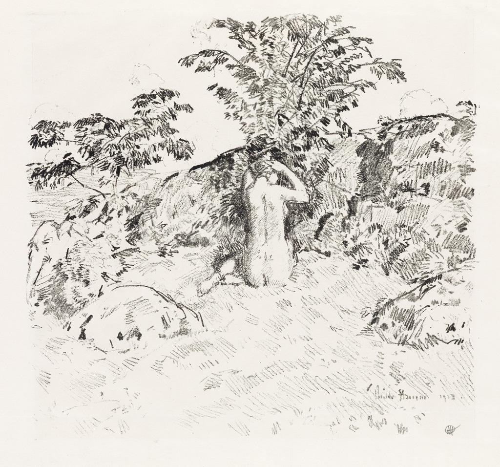 CHILDE-HASSAM-Wild-Cherry-Tree