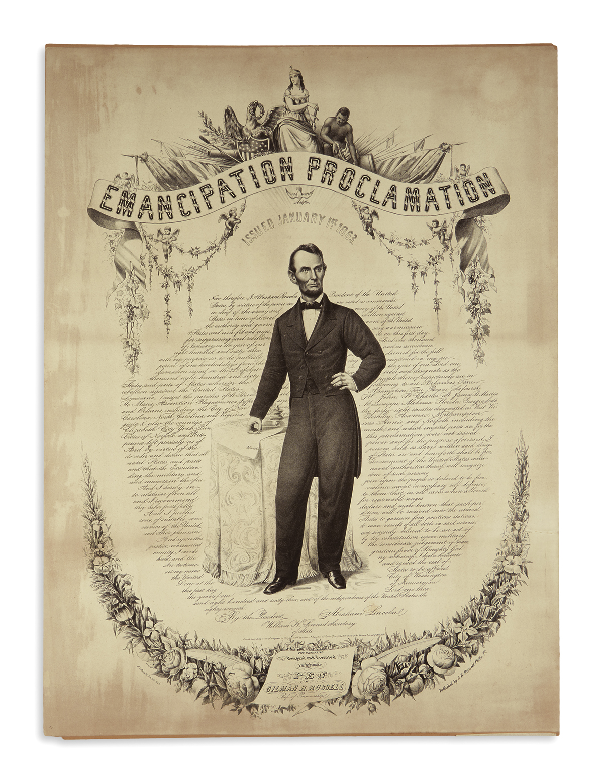(PRINTS--EMANCIPATION)-Duval-PS--Son;-engravers-Emancipation