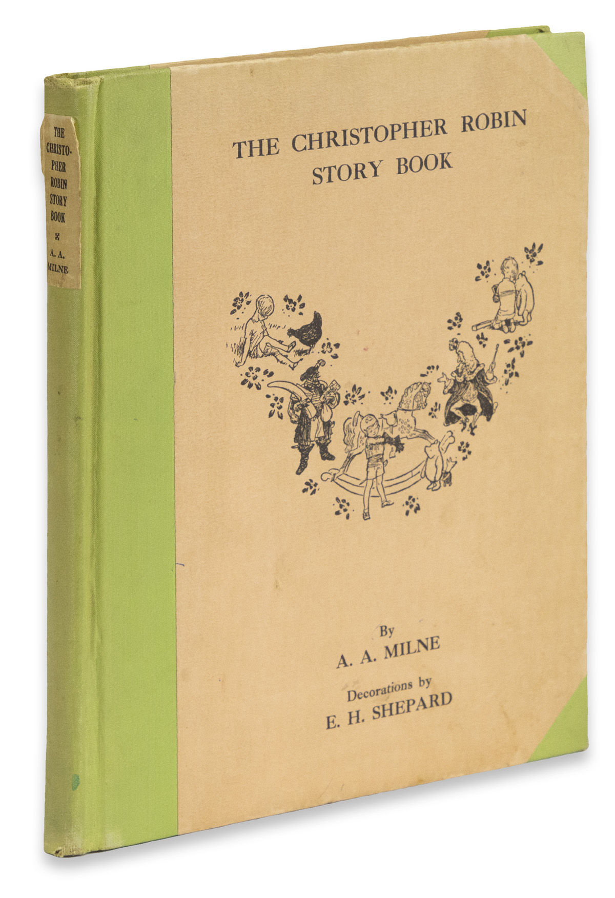 (CHILDRENS LITERATURE.) Milne, A.A. The Christopher Robin Story.