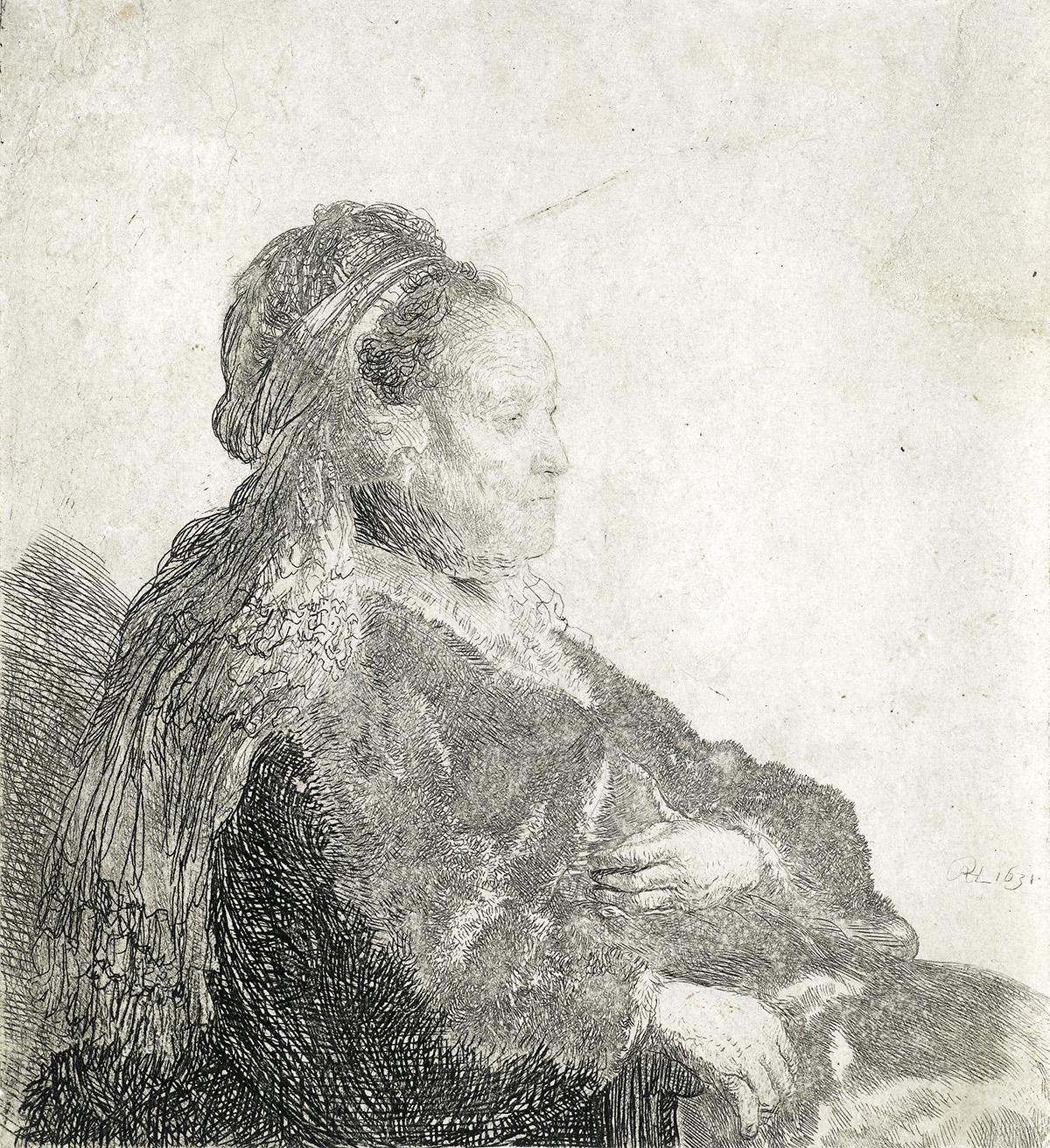 REMBRANDT-VAN-RIJN-The-Artists-Mother-Seated-in-an-Oriental-