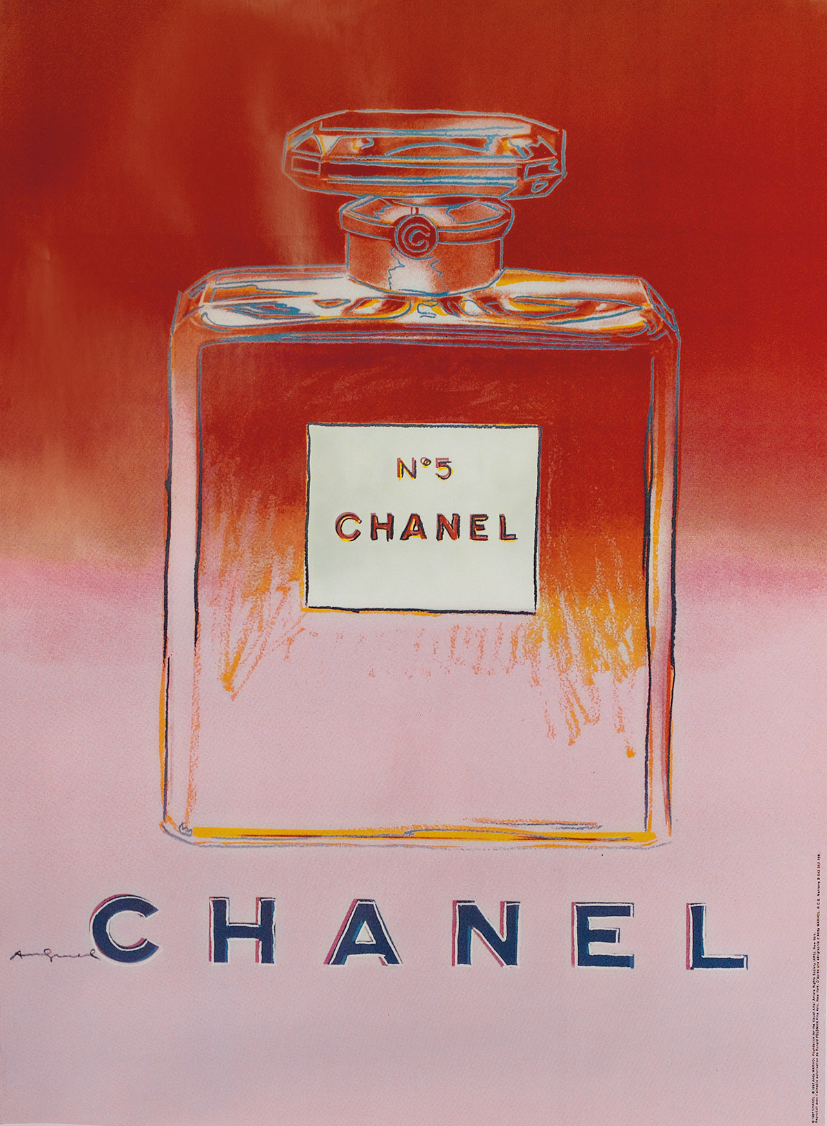 ANDY WARHOL (after) Chanel No