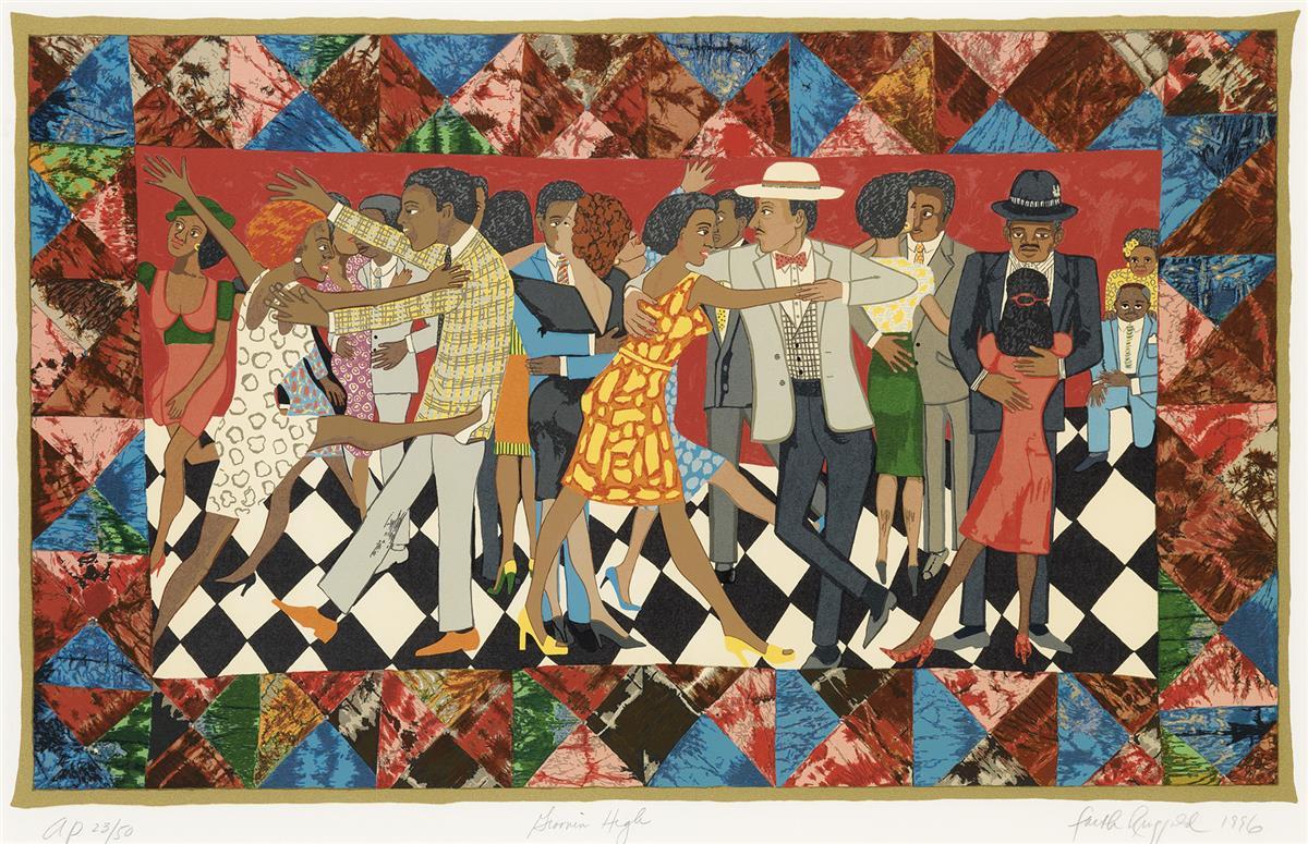 FAITH-RINGGOLD-(1930-----)-Groovin-High