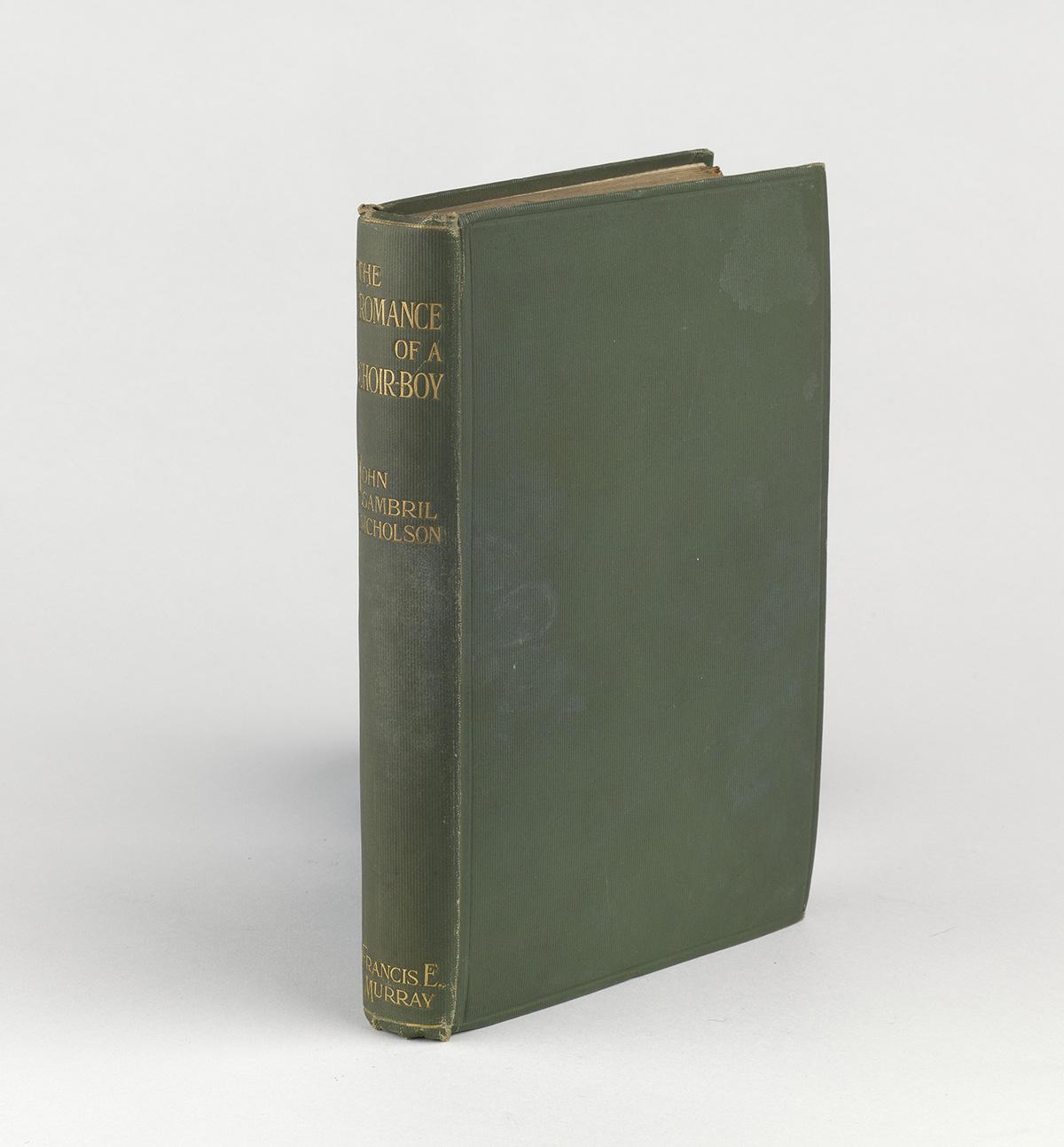 JOHN-GAMBRIL-NICHOLSON-(1866-1931)--The-Romance-of-a-Choir-B