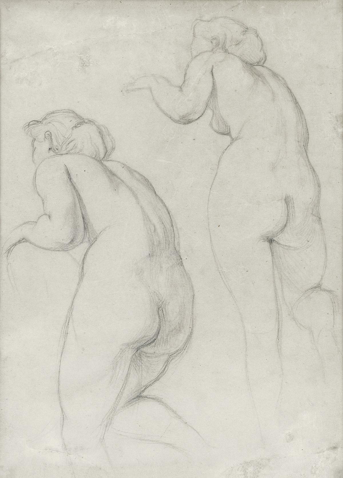 HENRI FANTIN-LATOUR Études de femmes nue.