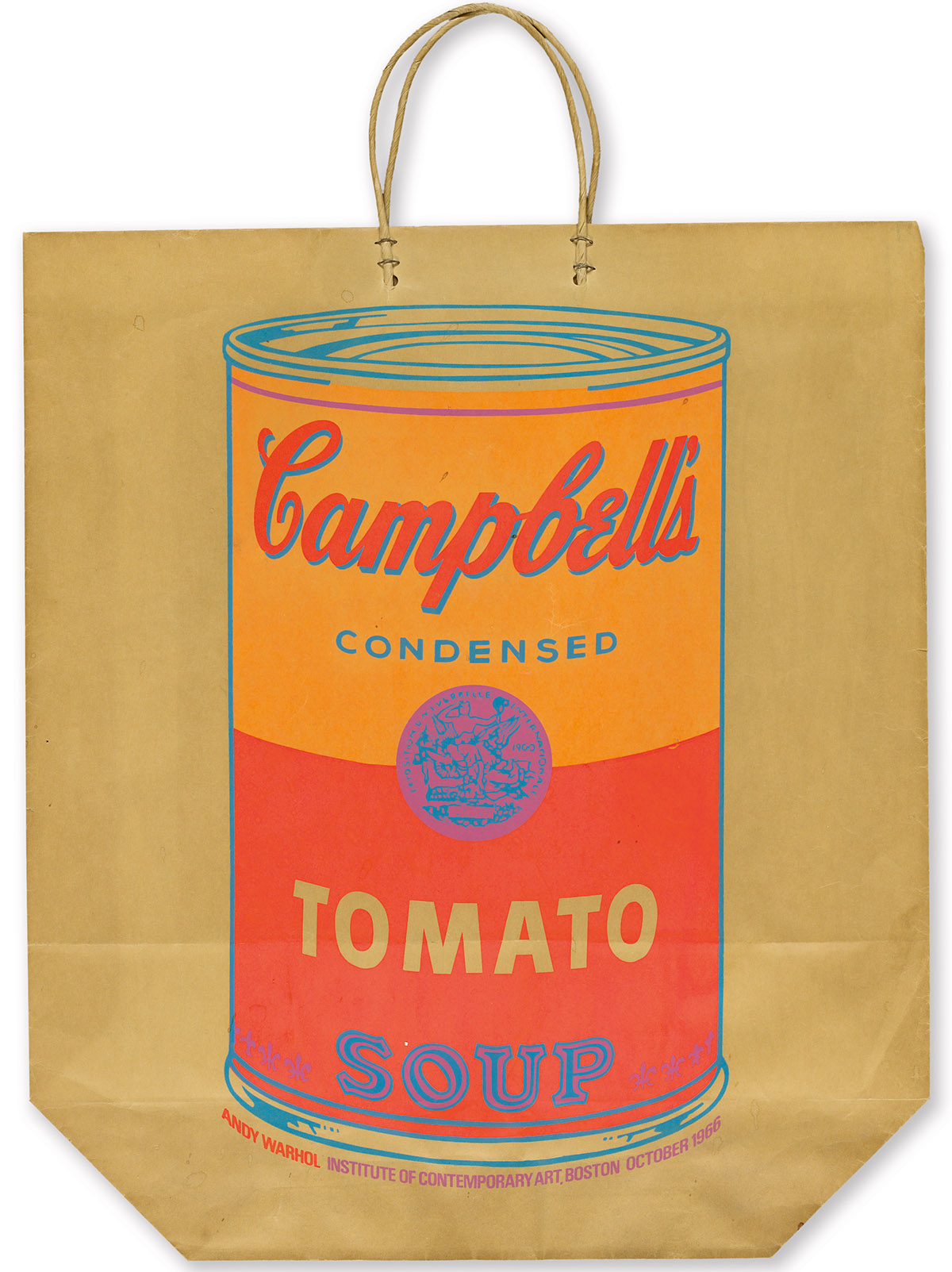 ANDY-WARHOL-Campbells-Soup-Can-on-a-Shopping-Bag