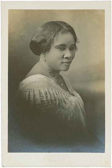 (BUSINESS.) WALKER, MADAME C.J. -SCURLOCK, ADDISON. Madame C. J. Walker.