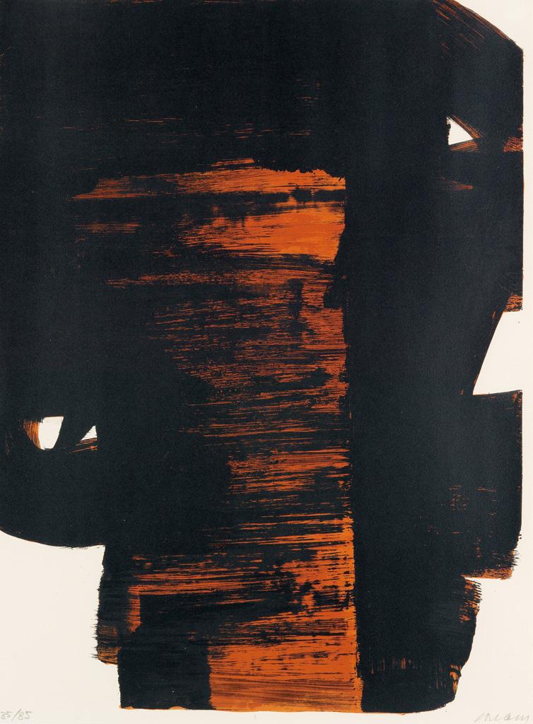 PIERRE SOULAGES Lithographie 26.