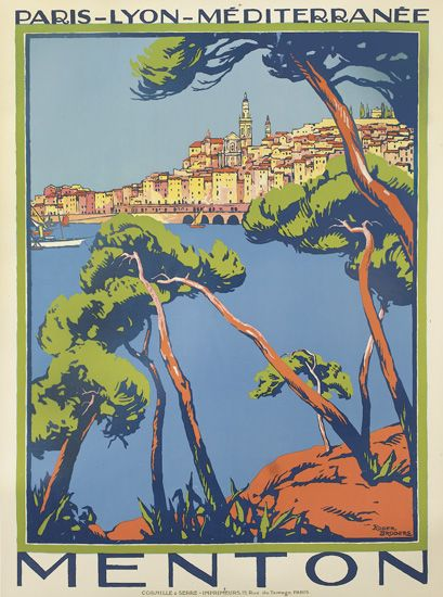 ROGER-BRODERS-(1883-1953)-MENTON-Circa-1923-42x31-inches-107