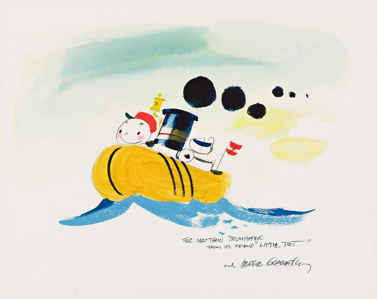 HARDIE GRAMATKY (1907-1979) Little Toot. [CHILDRENS /TRAINS]