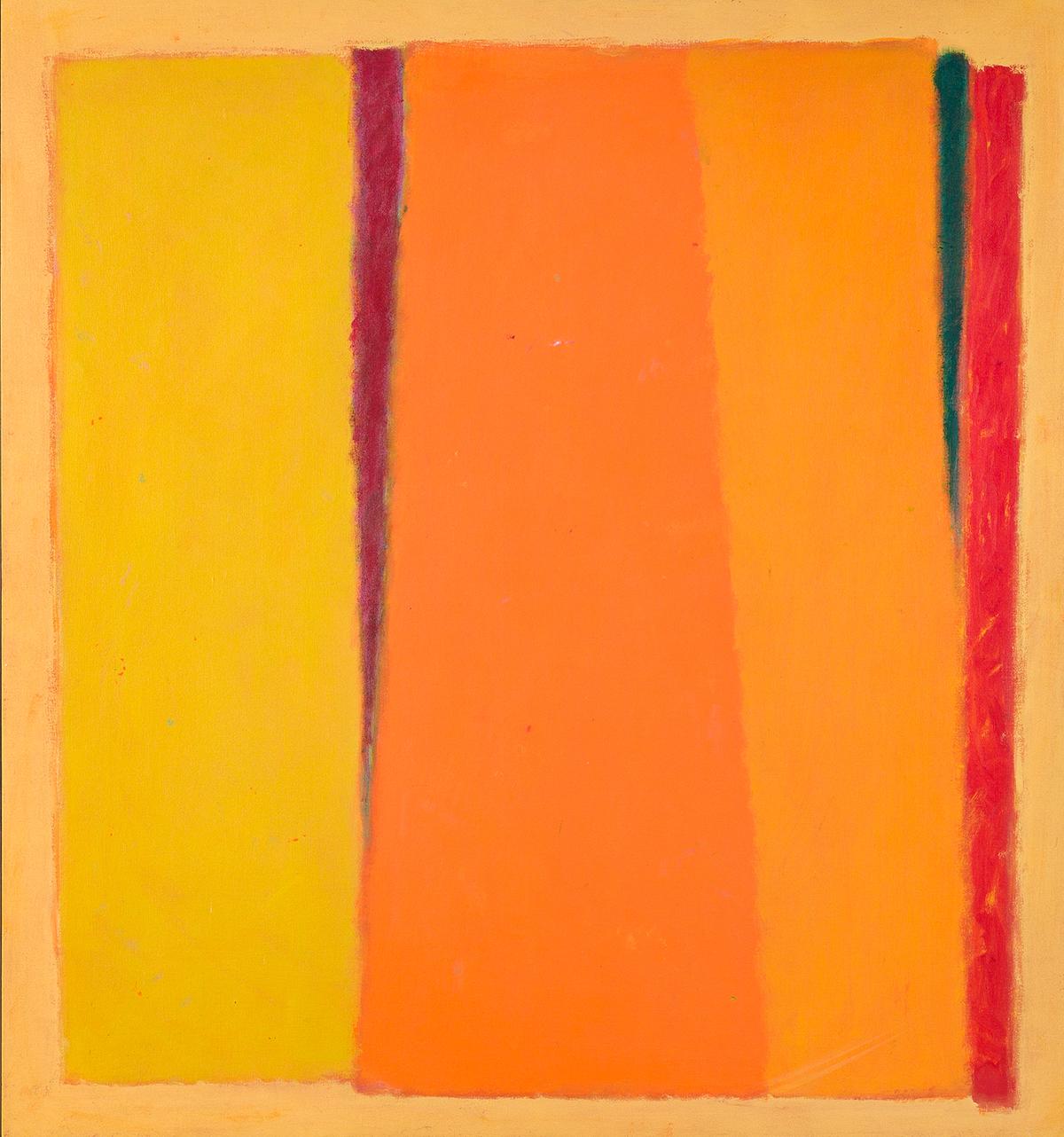 JOHN OPPER (1908 - 1994, AMERICAN) Painting, #32.