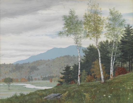 RICHARD L. BROWN (1893 - 1917) Mt. Monadnock.