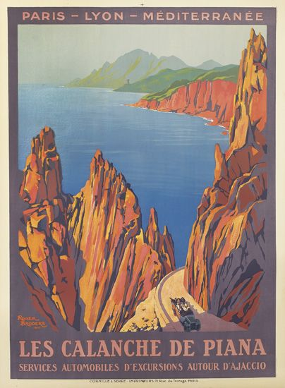 ROGER-BRODERS-(1883-1953)-LES-CALANCHE-DE-PIANA-1923-42x30-i
