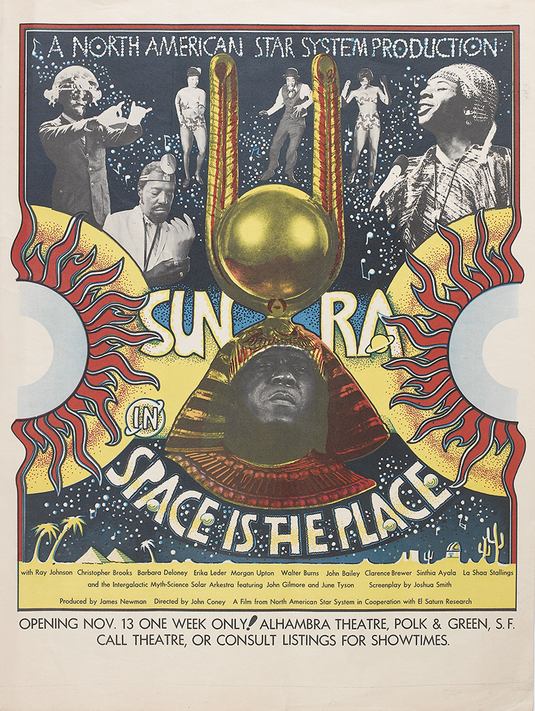 (MUSIC.) BLOUNT, HERMAN POOLE SUN RA. Space is the Place.