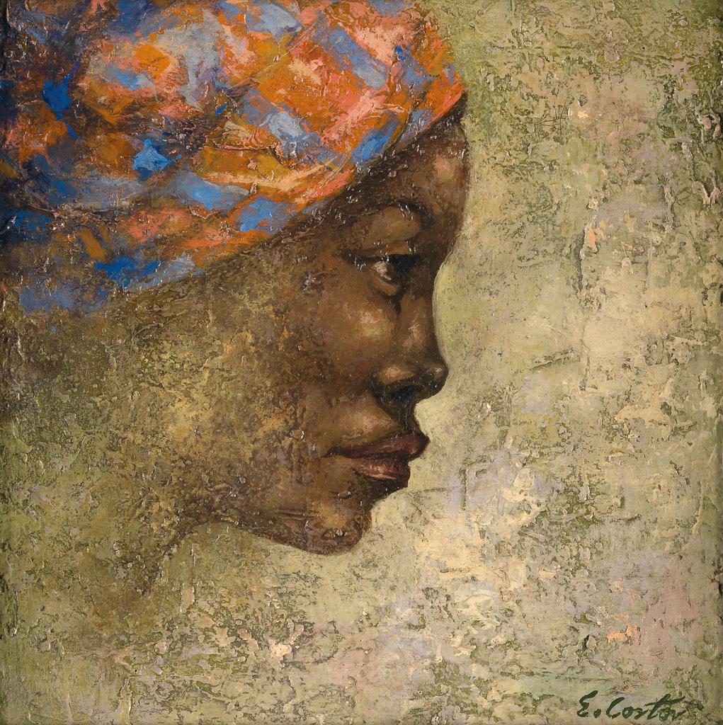 ELDZIER CORTOR (1916 -   ) Classical Study, No. 36.