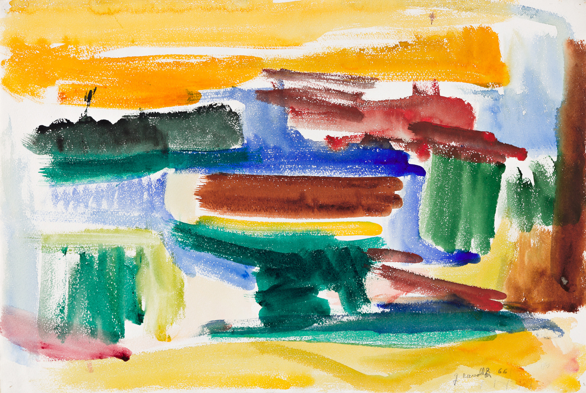 GIORGIO CAVALLON (1904 - 1989, AMERICAN) Untitled, #330.