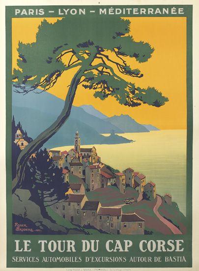 ROGER-BRODERS-(1883-1953)-LE-TOUR-DU-CAP-CORSE-1923-42x31-in