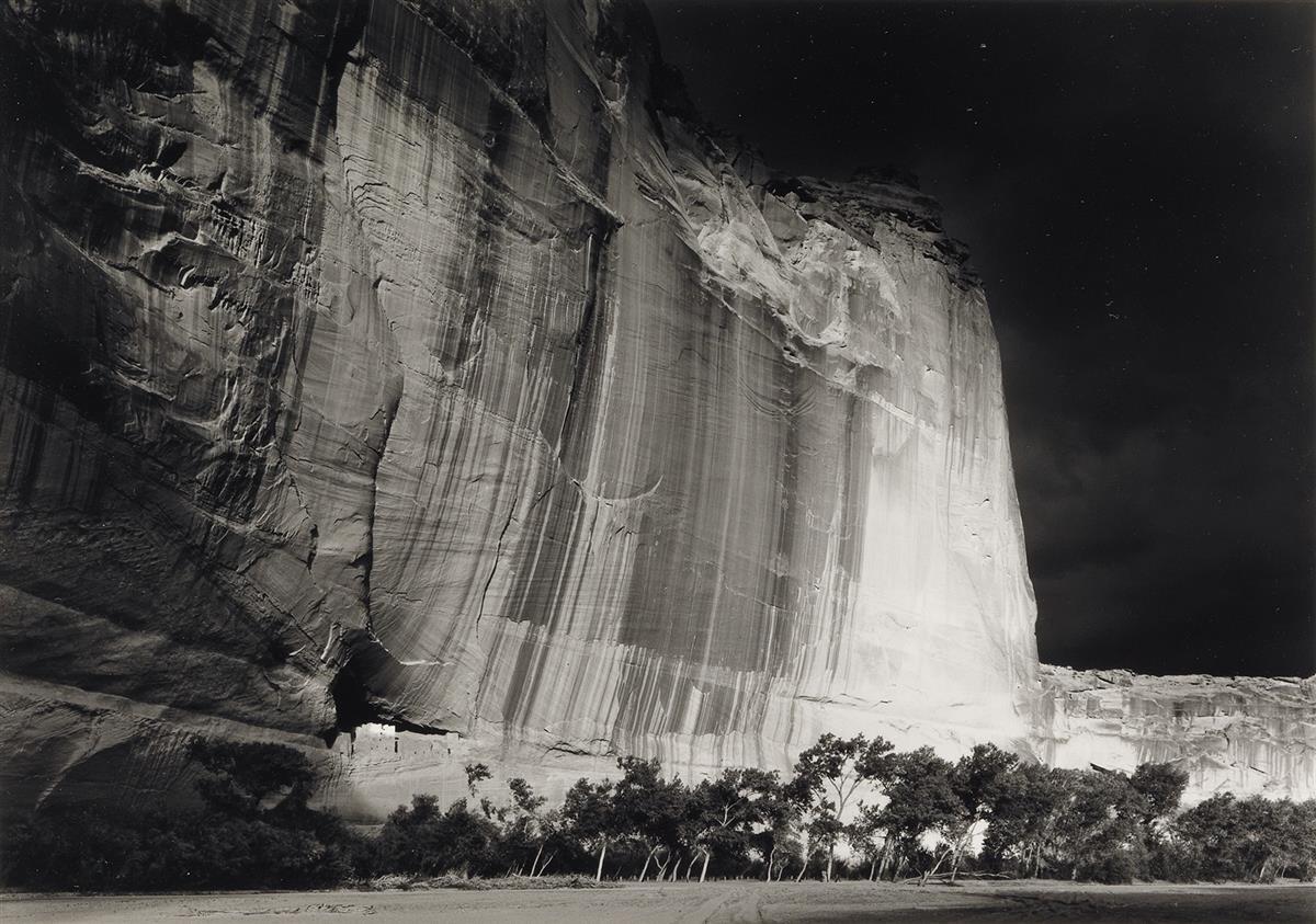 WILLIAM-CLIFT-(1944--)-White-House-Ruin-Canyon-de-Chelly-Ari