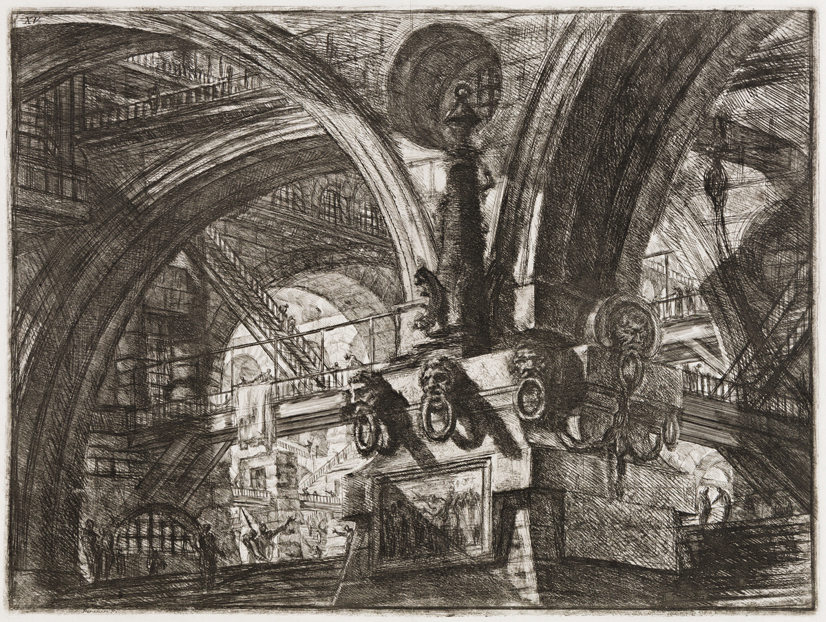 GIOVANNI B. PIRANESI The Pier with a Lamp.