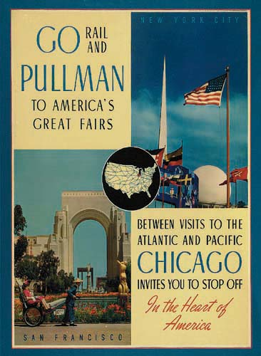 GO-PULLMAN-TO-AMERICAS-GREAT-FAIRS-1939-27x21-inches-Charles