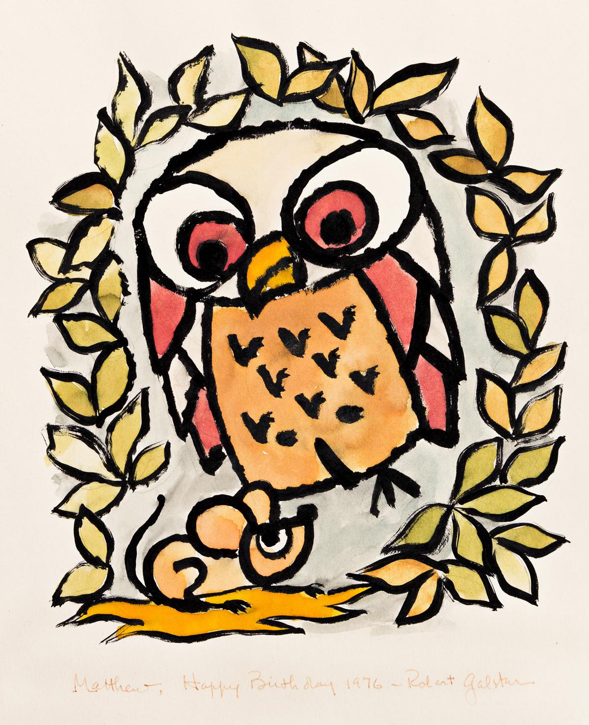 (CHILDREN'S BOOK ILLUSTRATORS) Group of 9 original illustrations.