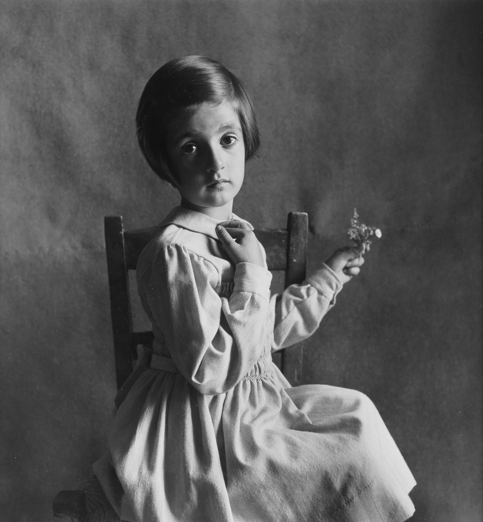 IRVING PENN (1917-2009) Child photographed in Florence, Italy.