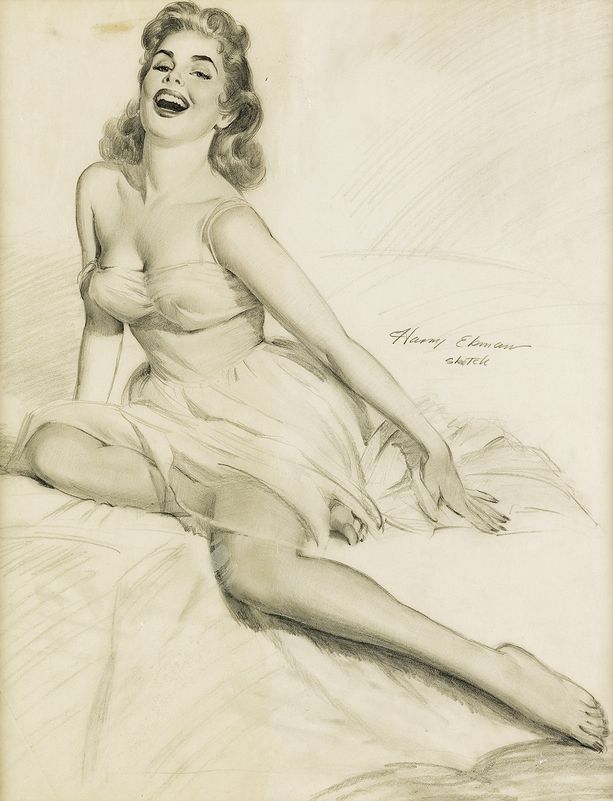 HARRY-EKMAN-(PIN-UP)-Divine-Laughter