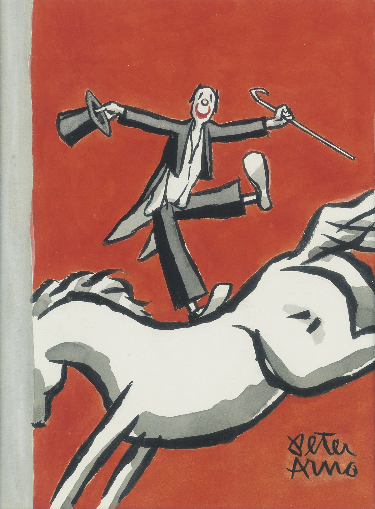 (THE NEW YORKER.) PETER ARNO. Circus Tricks.