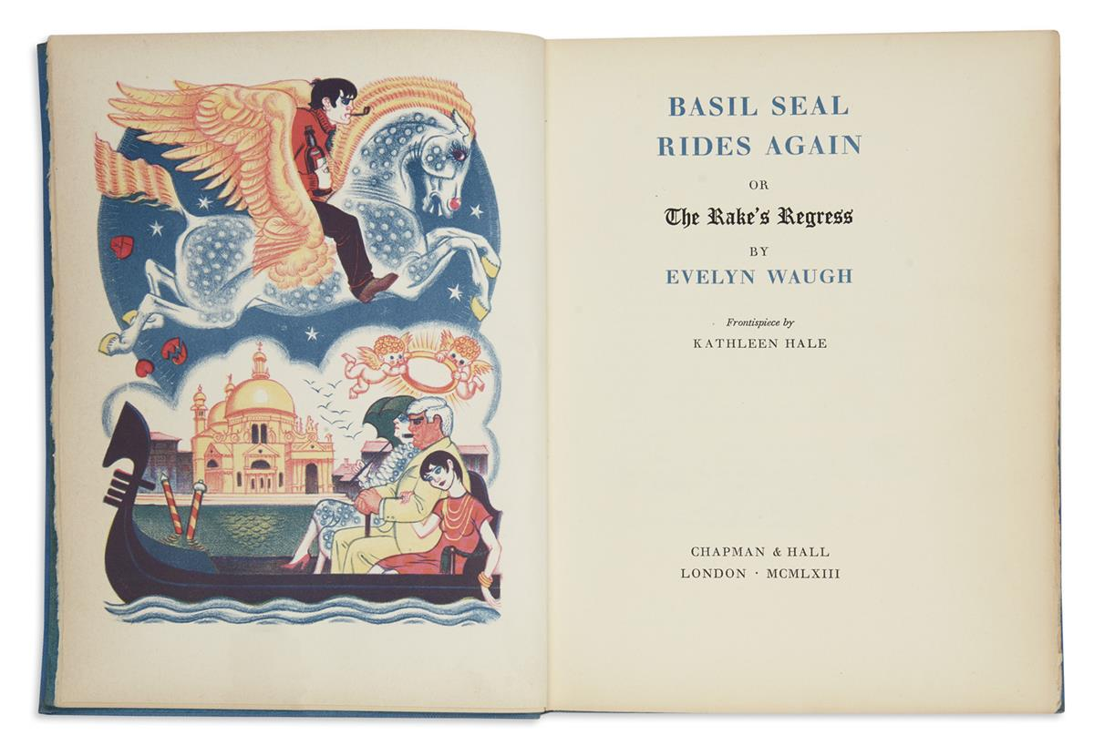 WAUGH-EVELYN-Basil-Seal-Rides-Again-or-The-Rakes-Regress