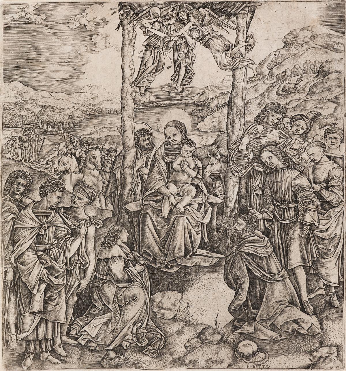 CRISTOFANO DI MICHELE MARTINI, IL ROBETTA The Adoration of the Magi.