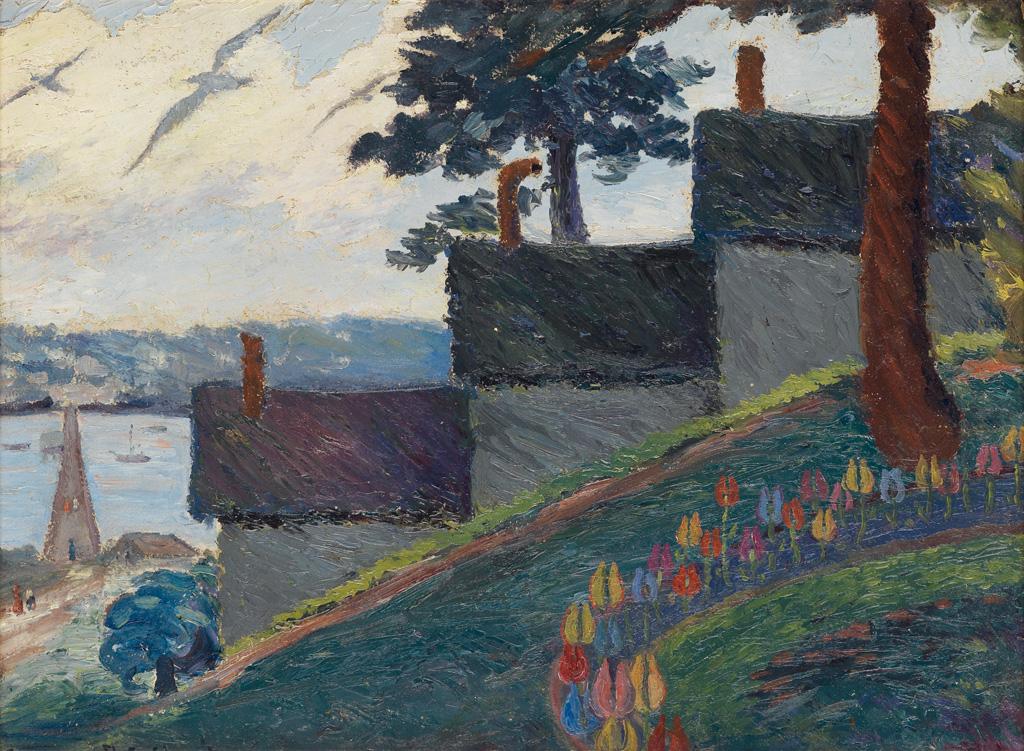 PALMER HAYDEN (1890 - 1973) The Steps.
