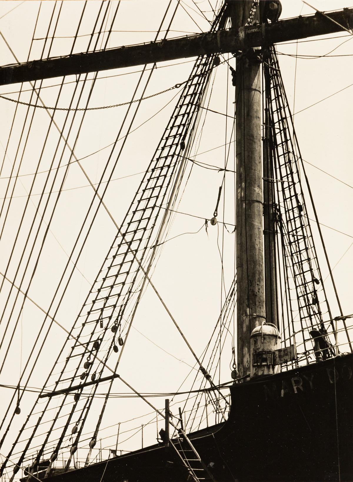ALMA LAVENSON (1897-1989) Rigging.