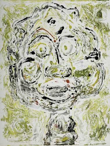 BEAUFORD DELANEY (1901 - 1979) Untitled (Smiling Man).