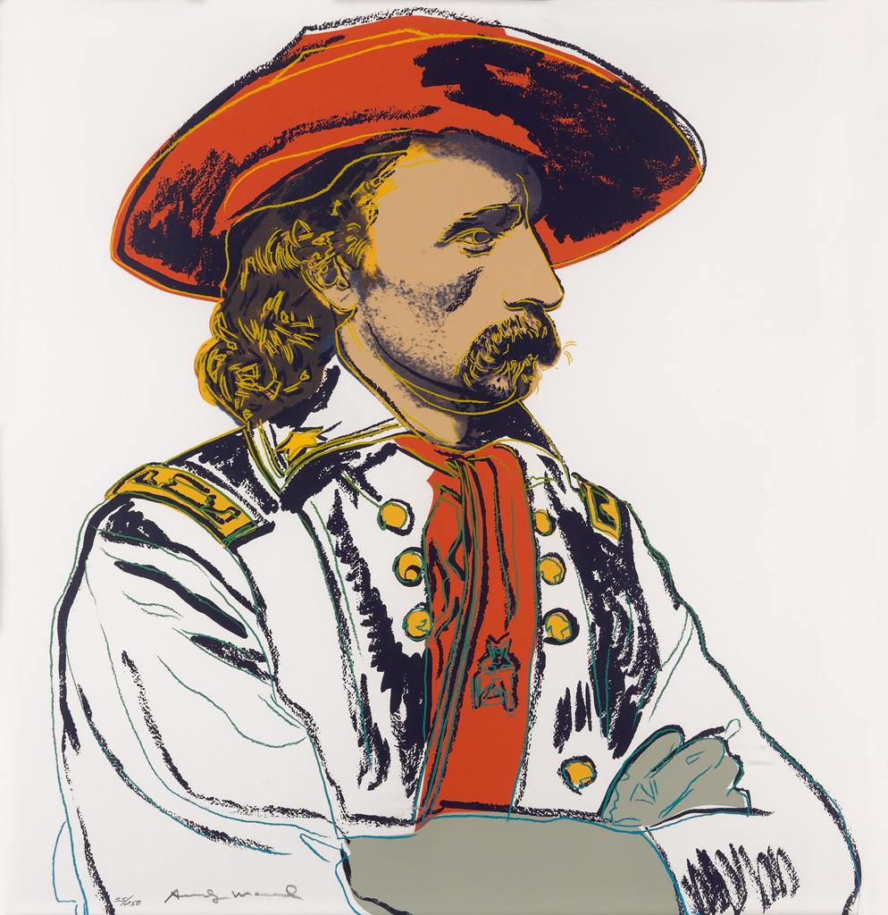 ANDY WARHOL General Custer.