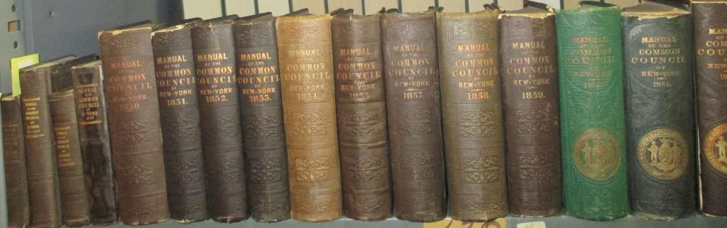 (NEW YORK CITY.) Valentine, David Thomas. Manual of the Corporation of the City of New York.