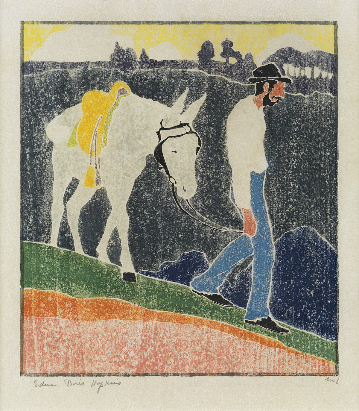 EDNA-BOIES-HOPKINS-The-Mountaineer-(Andy-Walking-with-his-Mule)