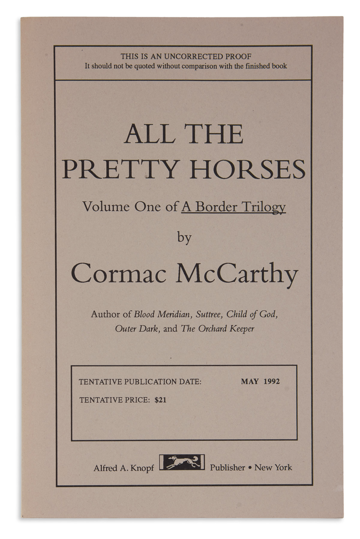 MCCARTHY-CORMAC-All-the-Pretty-Horses--Cities-of-the-Plain