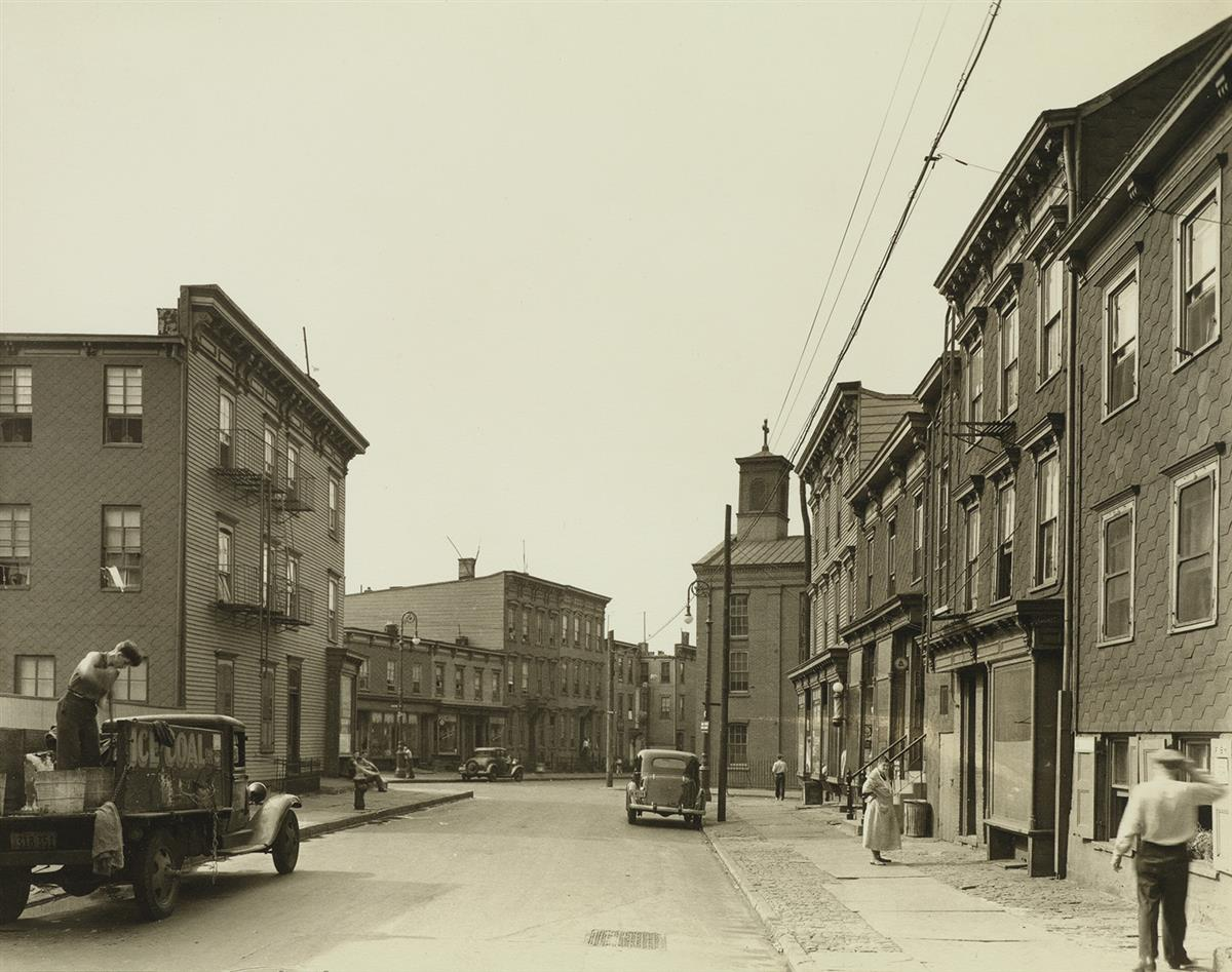 BERENICE ABBOTT (1898-1991) Group of 11 photographs of New York City boroughs from Abbotts iconic Changing New York series.